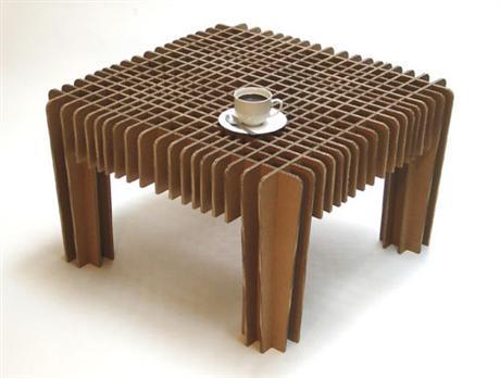 cardboard furniture patterns